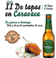 5th to 29th November, tapas route in Caravaca de la Cruz