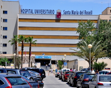 Wards to reopen at the Rosell hospital in Cartagena
