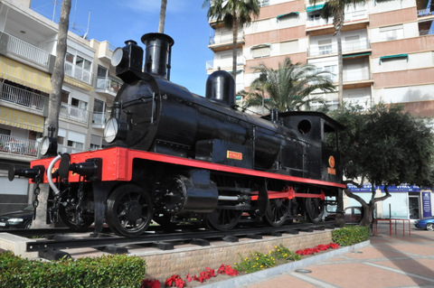 20th March free guided route of the railways tour in ��guilas