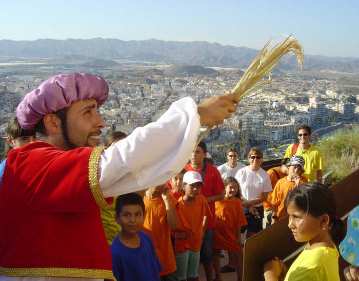 7th February free guided theatrical tour of ��guilas