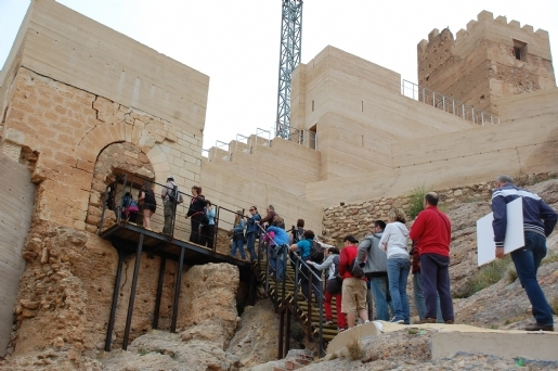 13th February guided visit to Alhama de Murcia castle