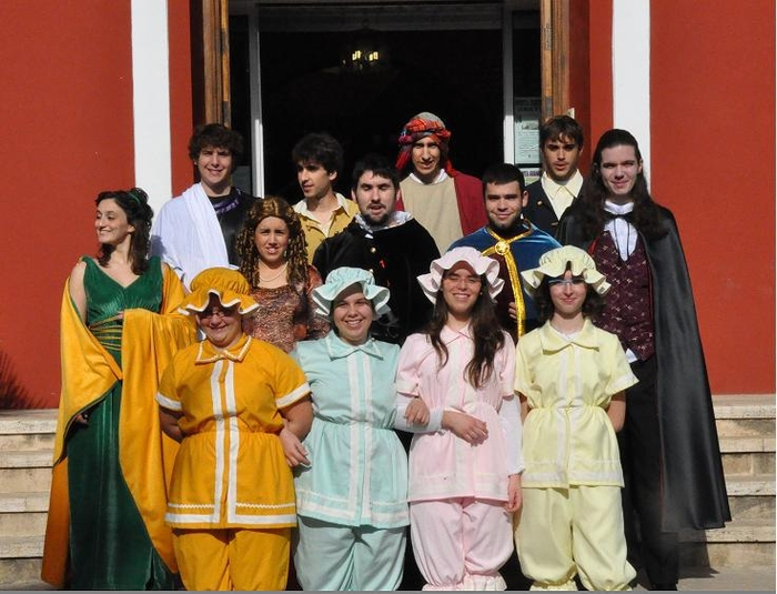 21st February free guided theatrical tour of Alhama de Murcia