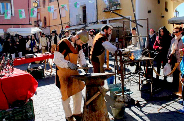 7th February 2016 El Zacat�n artisan market Bullas