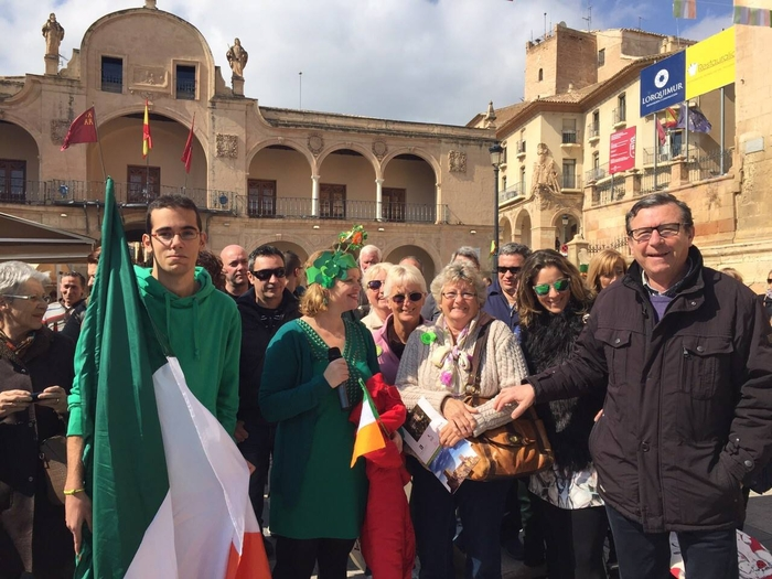 17th March ENGLISH language St. Patrick's Day tour of Lorca