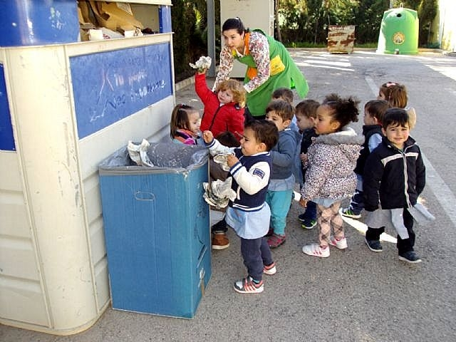 <span style='color:#780948'>ARCHIVED</span> - 2-year-olds learn about recycling in Santiago de la Ribera