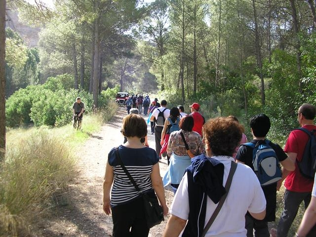 14th February free guided walk in Calasparra