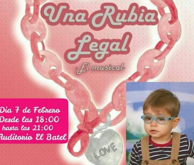 7th February, Legally Blonde musical in Spanish at the Cartagena auditorium