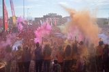 13,000 take part in the Cabezo de Torres Holi Run