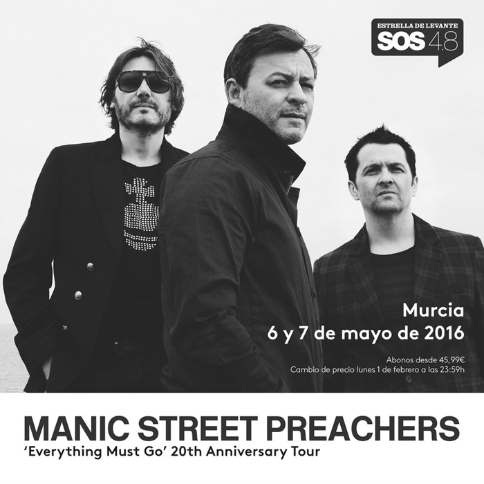 6th and 7th May, the SOS 4.8 music festival in Murcia