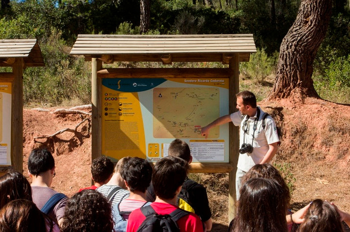 Murcia Regional Park staff attended to 60 thousand visitors last year