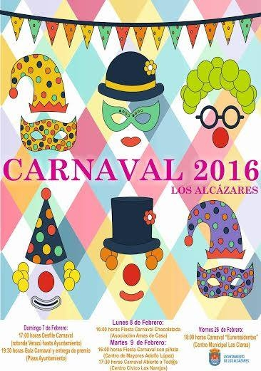 7th to 9th February Carnival in Los Alc�zares