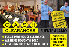 Cash Clearance Fuente Alamo for house clearances and second hand furniture sales