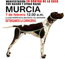 Murcia joins in demonstrations against hunting with greyhounds