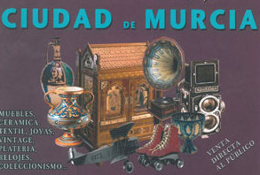 6th and 7th February, antiques fair in the Murcia auditorium
