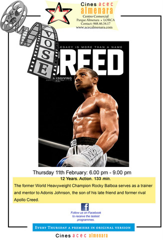 11th February Creed in ENGLISH Parque Almanara in Lorca