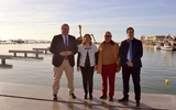 Remodelled Lo Pagan marina to open this spring