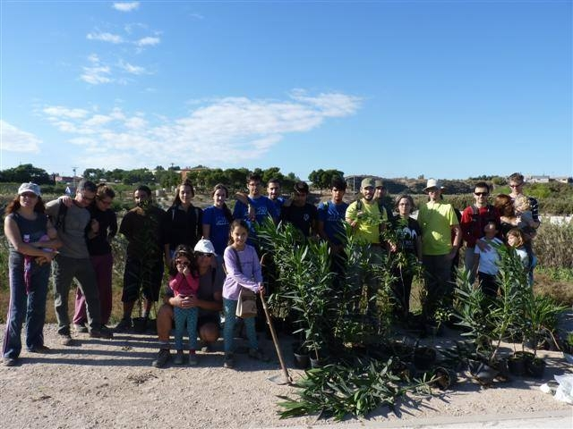 24th April free short family walk Sangonera La Verde Murcia