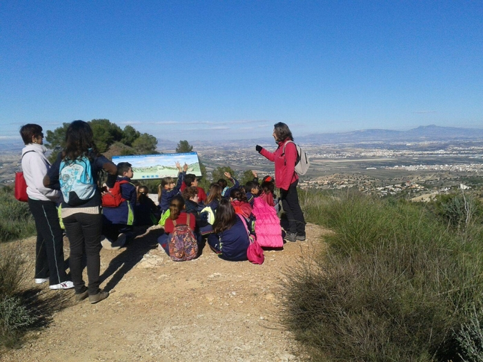 8th May 3.5km guided walk in the Huerta of Murcia