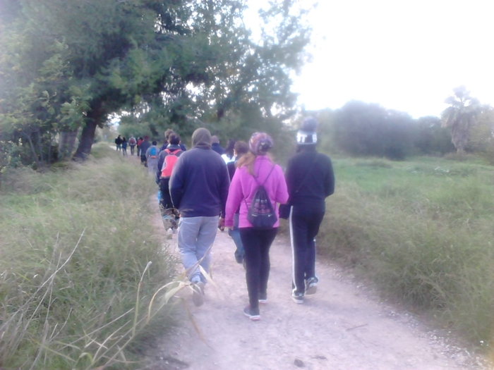 22nd May free 5.7km walk Los Ramos Murcia