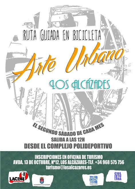 13th February free urban bicycle route in Los Alc�zares
