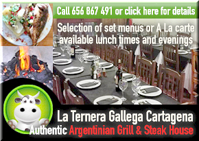 La Ternera Gallega Argentinian grill & steak house Cartagena