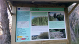 New information boards installed on the banks of the Segura in Murcia