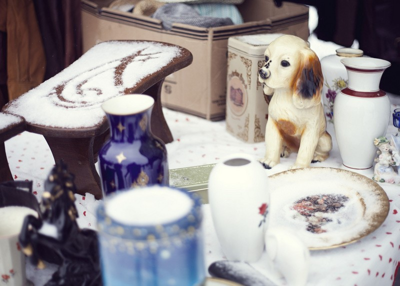 Every Sunday Antiques and collectables market in Águilas