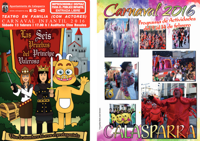 13th February Carnival in Calasparra