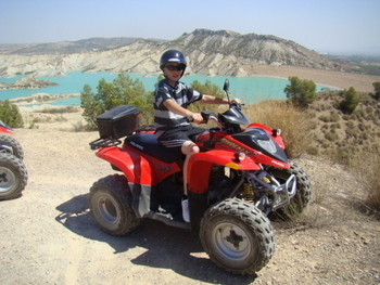 Quad Biking Tours in the Sierra Espuna