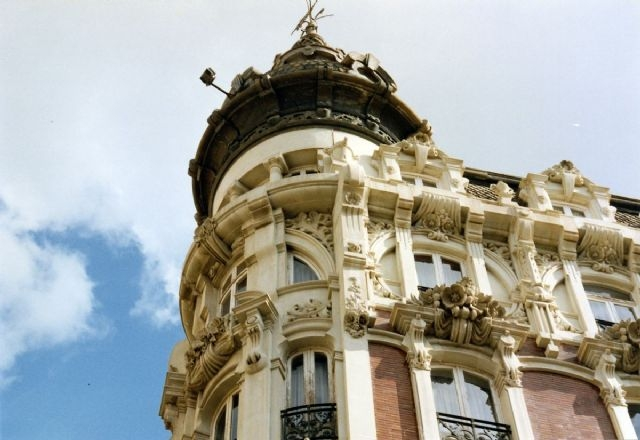 26th June free guided panoramic visit of Cartagena's modernist architecture