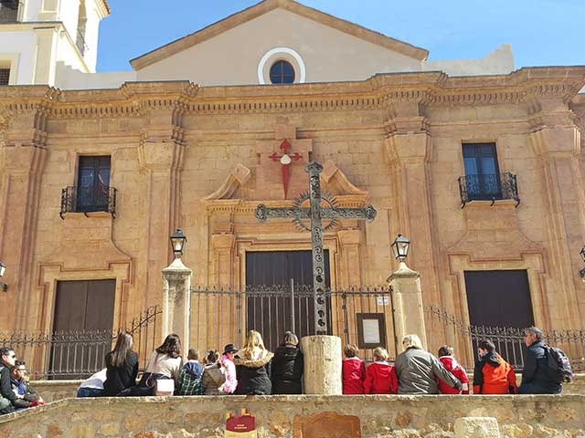 7th May Free guided theatrical tour of historical Lorca