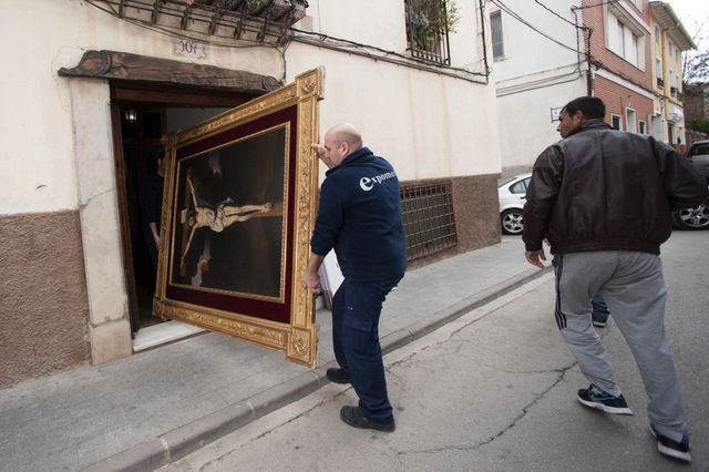 Stolen artworks and archaeological artifacts seized as Bullas resident is arrested