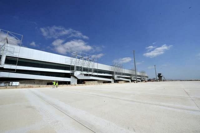 Corvera airport keys must be handed to the Murcia government