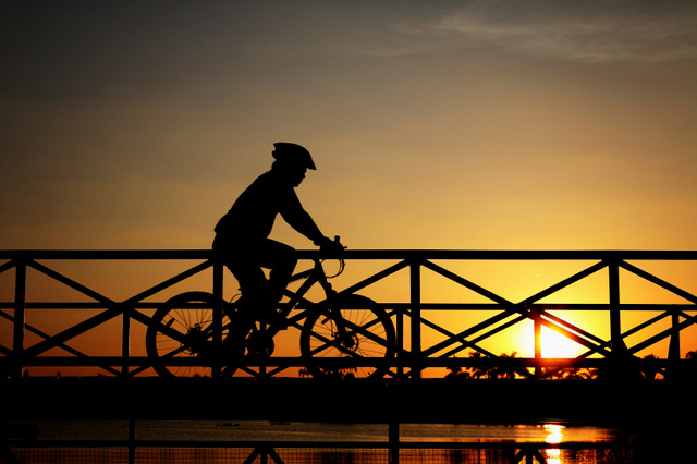21st May free accompanied moonlit bicycle ride in Murcia City