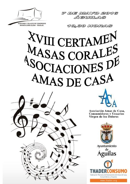 7th May  ��guilas hosts housewives' choral event