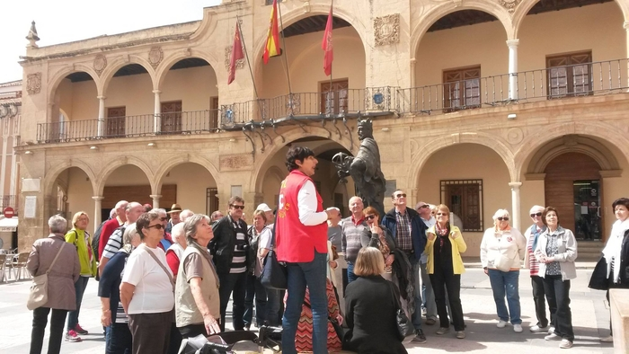 25th June free guided route to discover monumental Lorca