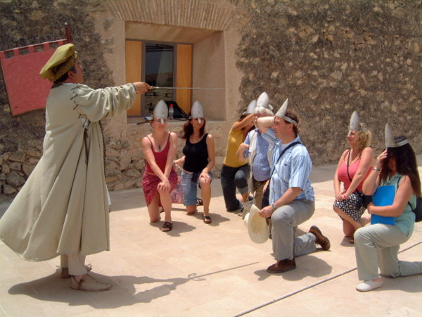 11th June Free guided theatrical tour of historical Lorca