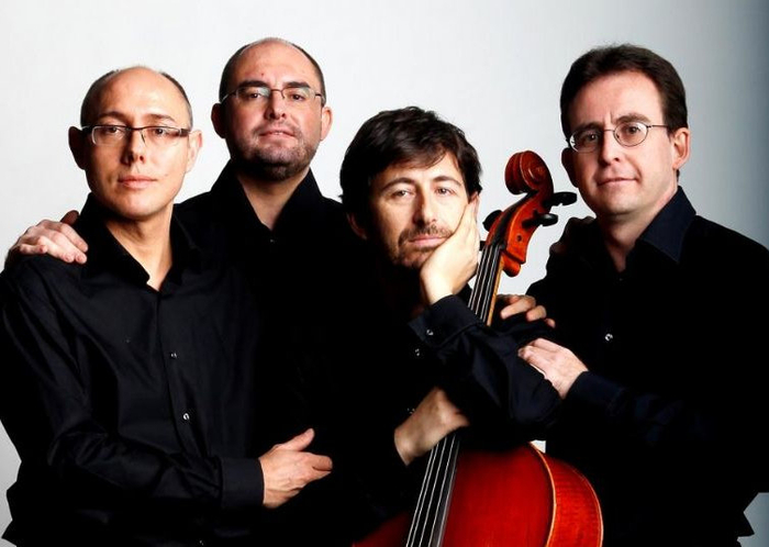 30th May, the Saravasti string quartet at the Auditorio Victor Villegas in Murcia