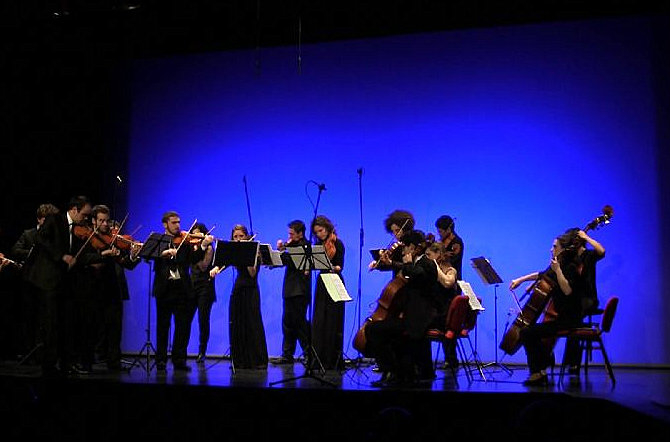 1st May, classical chamber music at the Murcia auditorium