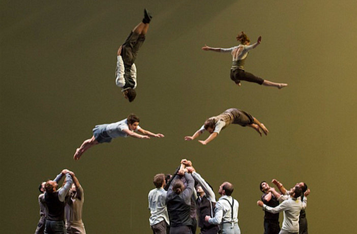 12th May, acrobatics on stage at the Teatro Circo in Murcia