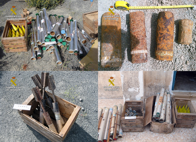 <span style='color:#780948'>ARCHIVED</span> - 86 explosive devices deactivated in Cieza