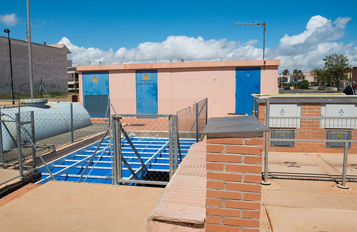 <span style='color:#780948'>ARCHIVED</span> - Los Urrutias stormwater tank up and running