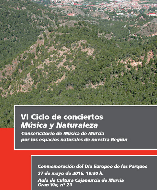 27th May free concert M�sica y Naturaleza in Murcia city