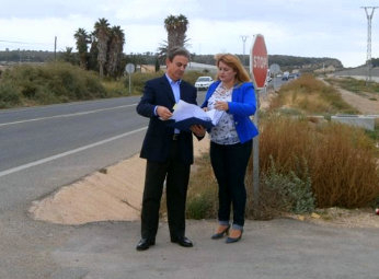 <span style='color:#780948'>ARCHIVED</span> - Mazarron-Puerto road will be equipped with a cycle lane