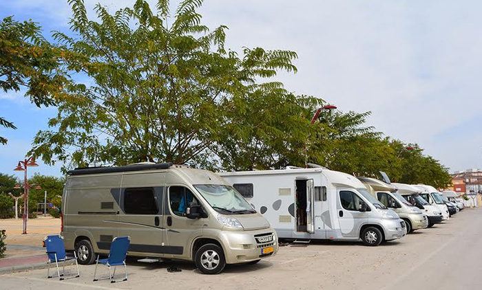<span style='color:#780948'>ARCHIVED</span> - Lorqui shows the Costa Calida how to cater for motor home campers