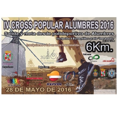 28th May the Alumbres IV Cross popular 2016