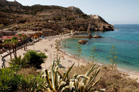 Cartagena beaches: Cala Cortina