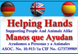 Helping Hands helps animals and people in Águilas and surrounding areas