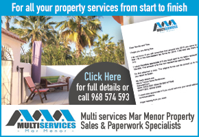 Multiservices Mar Menor offers you a full range of property and legal services up and down the Costa Cálida.