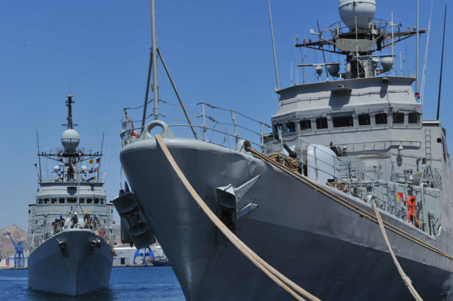 27th and 28th May Spanish Naval vessels open for visits in Cartagena